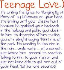 Teenage Love Quotes Classy Teenage Love Lovee