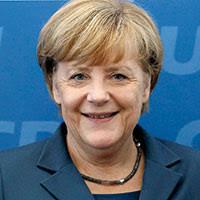 Mandatperioden innan samarbetade CDU med socialdemokratiska SPD, vars nuvarande ledare Peer Steinbrück då var finansminister. CDU (kristdemokratiskt) - Merkel-liten