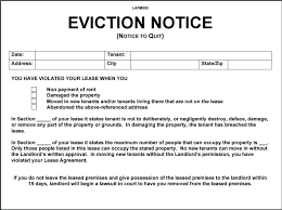 Free Eviction Notice Template Inspiration Eviction Notice Template Free Tenancy Azserver