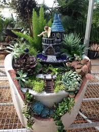 Small Picture 30 DIY Ideas How To Make Fairy Garden Miniature gardens Fairy