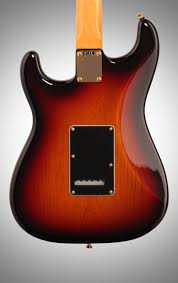 fender stevie ray vaughan stratocaster electric guitar zzounds fender stevie ray vaughan stratocaster pao ferro case 3 color sunburst