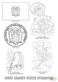 Small Picture New Jersey State Symbols coloring page Free Printable Coloring Pages
