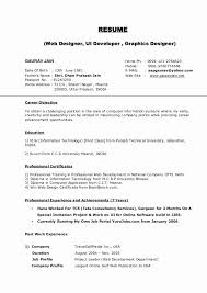 Winning Resume Formats New Resume Formal Resume Formats Ficial Template Awesome Best
