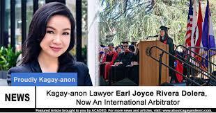 CDO Lawyer Earl Joyce Rivera Dolera, Now An International Arbitrator