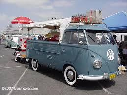 Photos of Original Volkswagen Pickup Trucks; Single Cab and Double ...