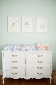 vintage nursery furniture. Vintage Nursery Furniture. Pastel Color On Walls, White Furniture, Art And Tiny Furniture