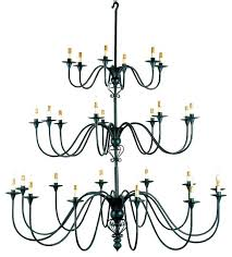 3 tier chandelier and company titan traditional axis