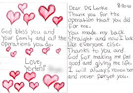 Surgery Quotes Adorable Expressions Of Gratitude Lawrence G Lenke MD