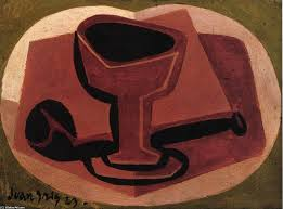 pipe and glass 1923 by juan gris 1887 1927 spain museum quality reions wahooart com