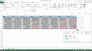 Spark Charts Excel How To Create Sparklines In Excel 2013 For Dummies