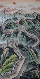 278 00 original painting modern art famous artists scenery decorate the great wall landscape painting