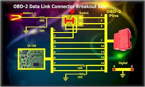 obd 2 data link connector breakout box obd 2 data link connector breakout box