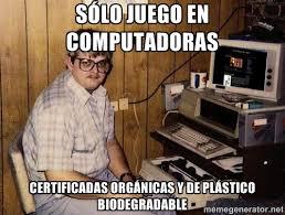 Certificadas plástico computadoras orgánicas de Nerd Sólo juego ... via Relatably.com