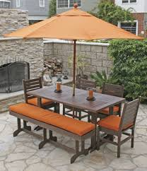 outdoor dining sets with umbrella. Delighful Outdoor Dining Patio Set With Outdoor Dining Sets Umbrella
