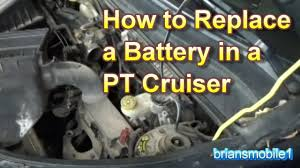 2006 Pt Cruiser Battery Light On Pt Cruiser Battery Replacement