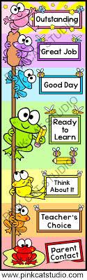 Frog Classroom Decor Behavior Clip Chart Classroom