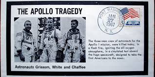 Image result for the fire on Apollo 1