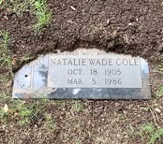 Natalie Opal Sims Cole (1905-1986) - Find A Grave Memorial
