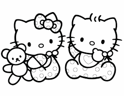 Hello Kitty Coloring Pages That You Can Print Page Printable Free