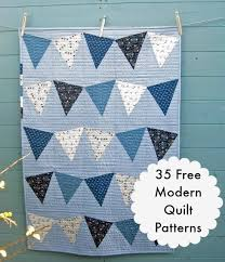 35 More Free Modern Quilt Patterns - wow i like that & 35 More Free Modern Quilt Patterns Adamdwight.com
