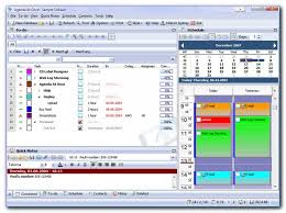 office organizer software. agenda at once free pim main screen with visible to do planner and notes office organizer software
