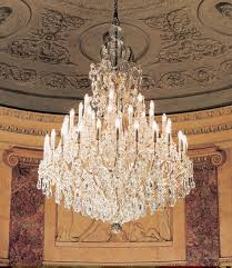 large maria theresa crystal chandelier 52 x 76 h 48 lights teatro comunale modena italy