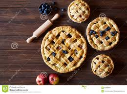 Homemade Pastry Apple Pie Bakery Products On Dark Wooden Kitchen