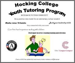 Ohio Campus Compact Americorps*vista: Program Highlight: Hocking ...