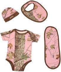 King's Camo Infant 4-Piece Set - Bodysuit, Beanie, Bib ... - Amazon.com
