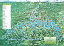 Lake Map Table Rock Lake Chamber Of Commerce