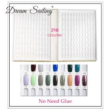 Nail Polish Colour Chart False Nail Color Book Color Display Nail Art Gel Polish Color Card Nail Color Chart Palette Varnish Practice Board Manicure Tool