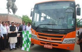 tata motors develops country s first bio methane bus tata motors limited