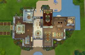 Small Picture Sims 4 House Blueprints Modern House