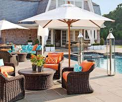 courtyard furniture ideas. Incredible Backyard Furniture Ideas Outdoor And Fabric Bright Color Schemes Courtyard
