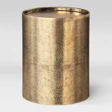 The gold drum table available on the site are made of different materials such as wood, aluminum, marble, steel, glass and so on, so that you can pick the. Manila Cylinder Drum Accent Table Gold Project 62 Target