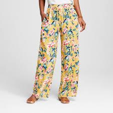 Target Pajamas Size Chart Womens Palazzo Pant Xhilaration Juniors Mustard