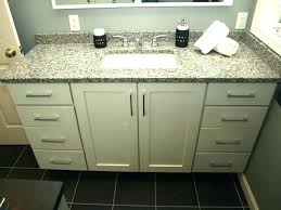 White bathroom cabinets with granite Grey Countertop Decoration White Bathroom Cabinet With Granite Top Semi Custom Cabinets Vanity Shaker Doors Ecommercewebco Decoration Bathroom Cabinet Granite Top Inspiration Of For Vanity