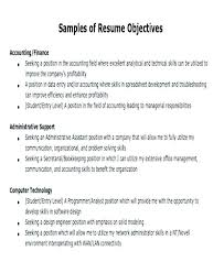 Career Objective Resume Sample Job Objectives Resume Resume Creator Simple Source