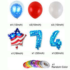 Independence Day Party <b>Balloons</b> for sale   eBay