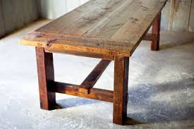 cheap reclaimed wood furniture. Reclaimed-wood-farm-table-rustic-sons-of-sawdust- Cheap Reclaimed Wood Furniture