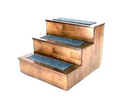 dog steps for high bed pet steps for tall beds dog stairs plans wood wooden frame