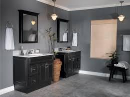 gray bathroom. cozy gray and brown bathroom color ideas 2 pictures of bathrooms with black cabinets design