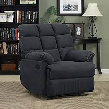 comfortable chairs for living room. Simple Room Prolounger Wall Hugger Microfiber Biscuit Back Recliner  Gray Living  Room Furniture Comfortable Chair Throughout Chairs For R