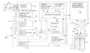 patent us6320532 low power radar level transmitter having patent drawing