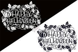 The svg and dxf can be imported to a number of paper craft programs, such as silhouette cameo and cricut. Happy Halloween Svg Papercut File Free Design Of The Week Design Bundles
