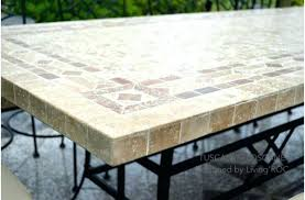 tile outdoor table. Tile Outdoor Table Mosaic Fine Patio Dining Room Build Divine . N