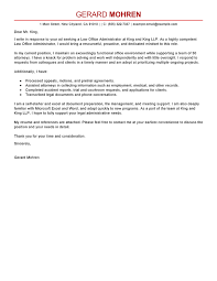 Administrative Cover Letter Example Best Office Administrator Cover Letter Examples Livecareer