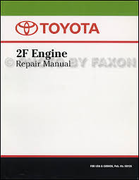 toyota land cruiser fj electrical wiring diagram original  1975 1981 toyota land cruiser 2f engine repair shop manual factory reprint 109 00