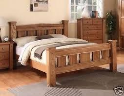 Cavendish Solid Oak Bed Frame Bed Frames King Size Wooden Luxury ...