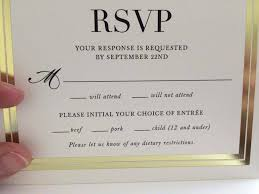 when do you send out wedding invitations with rsvp the layout of this wedding invitation is